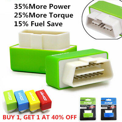 Eco OBD2 Plug Drive Performance Chip 15% Fuel Save Tuning Box for Diesel Car R