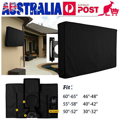 Portable TV Cover Dustproof Waterproof Outdoor Television Protector Case E9Q0