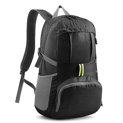 Foldable Ultra Lightweight Packable Backpack Bag for Outdoor Travel Hike 35L