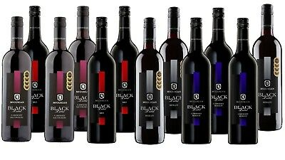 Red Wine Mixed McGuigan Black Label Ultimate Barbacue Mix 12x750ml Free Delivery