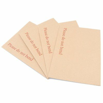 C3 C4 C5 DL C4+ C5+ Hard Board Backed Manila Peel&Seal Envelopes 'Do Not Bend'