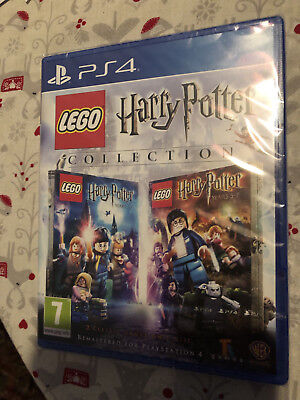 Lego Harry Potter Collection PS4 Brand New Sealed UK PAL Disc Free UK Post