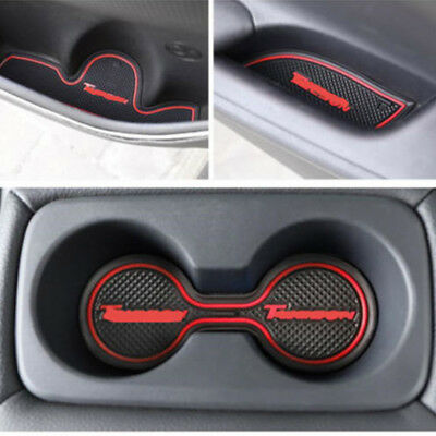 For Toyota Corolla 2014-2018 Car Interior Door Mat Gate Slot Pad Cup Mat Hold