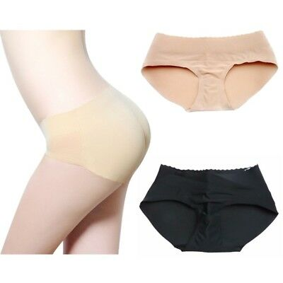 US Women Buttock Padded Shapewear Underwear Bum Butt Lift Enhancer Brief Panties