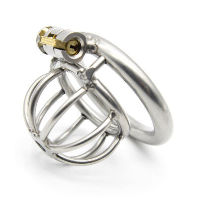 Small Short 304 Stainless Steel Male Chastity Device Cage A282
