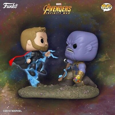 Funko POP! Movie Moment: Thor vs. Thanos #707 Marvel's  Avengers Infinity War