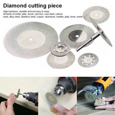 10Pcs Diamond Saw Blades Disc Cutting Wheel Wearable for Jade Jewelry Metal Wood