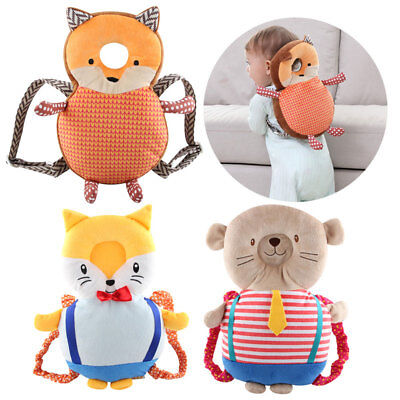 Newborn Baby Head Protection Pad Headrest Cute Animal Pillow Drop Resistance Toy