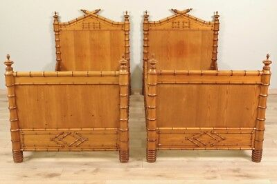 Bamboo twin beds