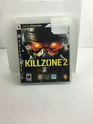 Killzone 2 PS3 PlayStation Sony 2008 Edition Video Game CD Complete