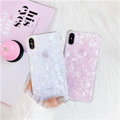 3D Marble Bling Phone Case Cover Shell For iPhone 6s 7 8 Plus XS MAX XR