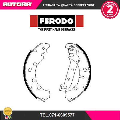 FSB635-G Kit ganasce freno post Ford-Mazda (FERODO)