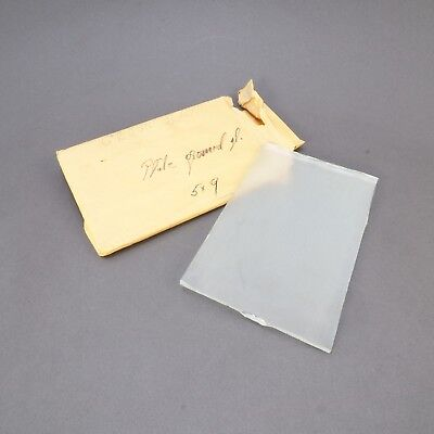 = Antique Large Format Camera Plate Ground Glass 5x9