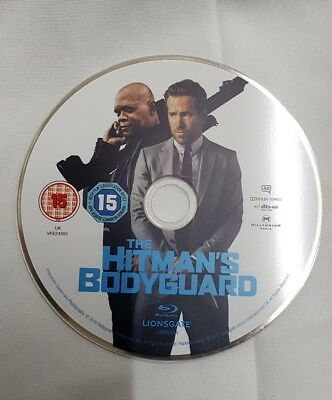 The Hitmans Bodyguard 2017 Blu-Ray **Disc ONLY** Film Movie Crime Ryan Reynolds