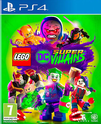 Videogioco PS4 LEGO DC Super Villains Nuovo Originale per Sony PlayStation 4