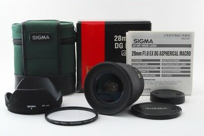 SIGMA Sony 24mm F1.8 DG MACRO ASPHERICAL MINT IN BOX RARE 360404