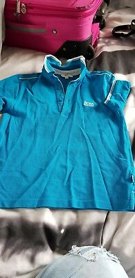 boys hugo boss slim fit polo size 8