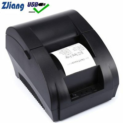 Thermal Printer Mini 58mm USB POS Receipt Printer For Resaurant and Supermarket