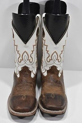 244ea6465bf SMOKY MOUNTAIN KIDS Youth Cowboy Boots Faux Lizard Snake print Sz 11 ...