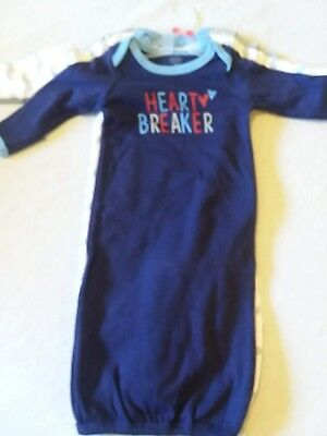 66b5dc9105f3 LUVABLE FRIENDS BABY Girls  Cotton Gowns