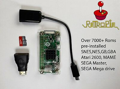 RASPBERRY PI 3 B+ With Retropie Preloaded With Over 100,000 Games