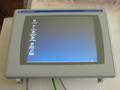 Allen Bradley PanelView Plus CE  2711P-T10C4A7 Color Touch Very Nice Used Tested