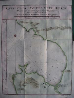 1749 - BELLIN - SOUTH AFRICA  Map SAINT HELENA BAY