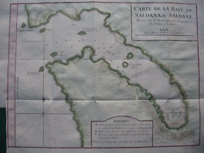 1749 - BELLIN - SOUTH AFRICA  Map SALDANHA BAY