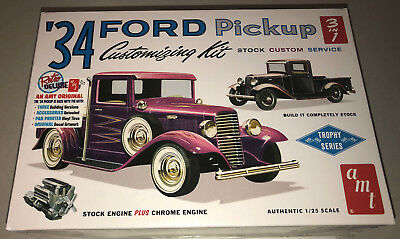 AMT 1934 Ford Pickup Customizing Kit 3 in 1 1:25 scale model kit new 1120