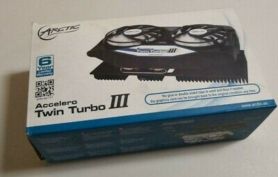 ARCTIC Accelero Twin Turbo III VGA Cooler for nVidia & AMD, Dual 92mm PWM Fans