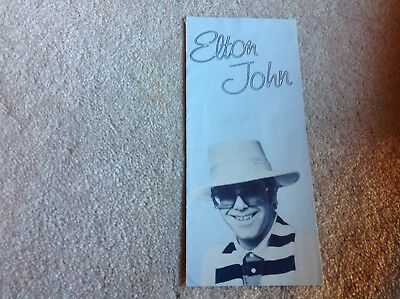 Vintage Elton John Blue Moves and more  Record Pamphlet by MCA Records