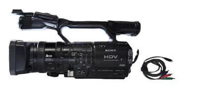 "Sony HVR-Z1U 1/3"" 3-CCD HDV Camcorder & accessories, 180 Drum Hours - Nice!"