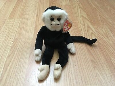 56405b739d8 Ty Beanie Baby ~ MOOCH the Spider Monkey~ RETIRED with several tag Errors