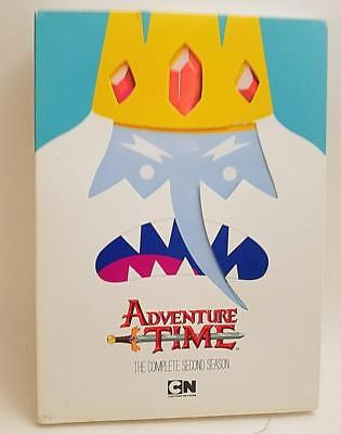 Adventure Time: The Complete Second Season(DVD, 2013) 2 disc tv show series.2nd.
