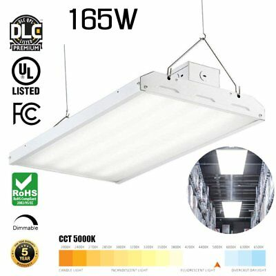 165W [400W Equiv.] 5000K Commercial Warehouse Area Light LED High Bay Light AS