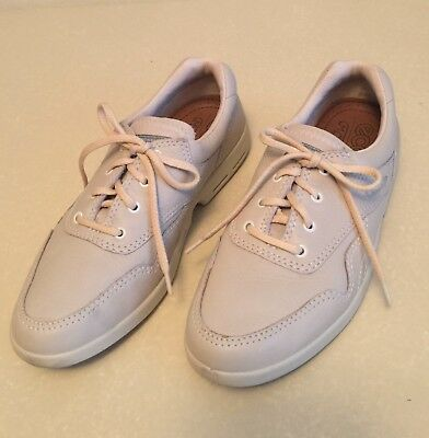 New Ecco Mobile Womens Beige Tennis Shoes Size 37 Us 6 13 95