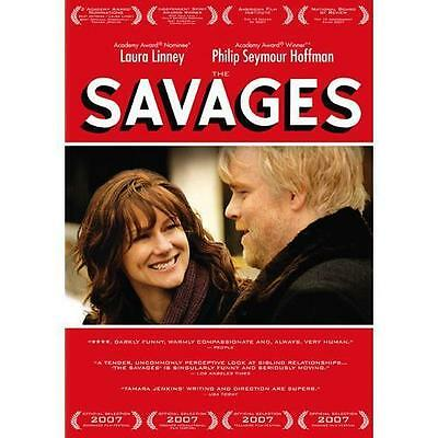 Savages - Laura Linney, Philip Seymour Hoffman - Brand New, Sealed Dvd