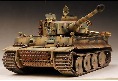 Award Winner Built Dragon 1/35 Tiger Mid LAH sPzAbt502.Kursk +Acc+PE