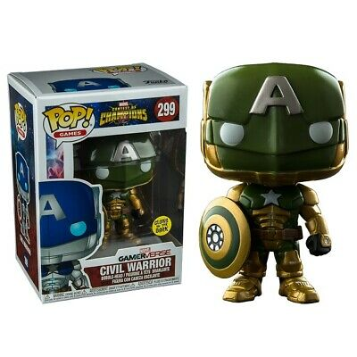 Marvel Contest of Champions Civil Warrior Green Exclusive Pop! Vinyl Figure 299