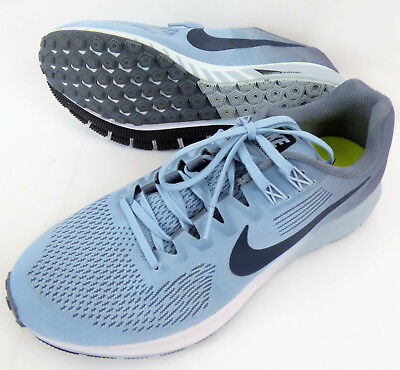cb172f40501 WOMENS NIKE AIR Zoom Structure 21 Running Shoes Armory Blue 904701 ...