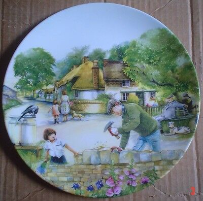 Royal Doulton Collectors Plate THE DRY STONE WALLER #2