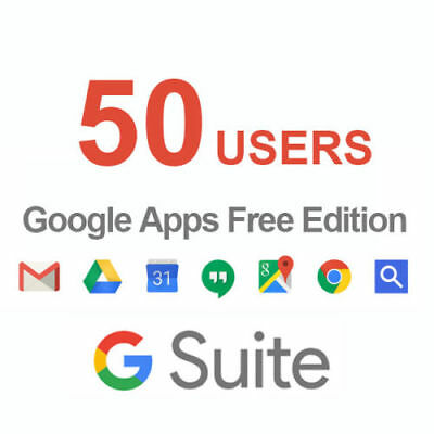 Domain name with Google Apps 50 Licenses
