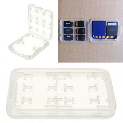 Case Box Holder Transparent Protectorfor Micro SD TF SDHC MSPD Memory Card