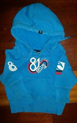 Rip Curl Bells Beach Baby Boys Hooded Jumper - Size 0