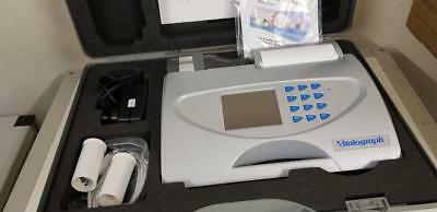 Vitalograph Alpha 6000 Spirometer System Complete with Case.