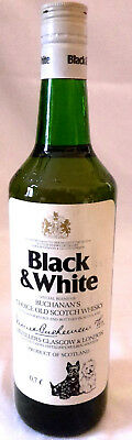 Vintage Black & White Buchanan`s Coice Old Scotch Whisky  70er Jahre 0,7L 40%vol