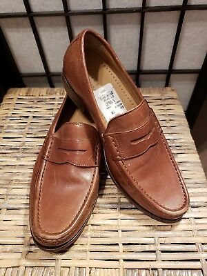 be4b97344d5 New MENS COLE HAAN GRAND OS BRITISH TAN BURNISH PENNY DRESS LOAFERS SHOES 7M