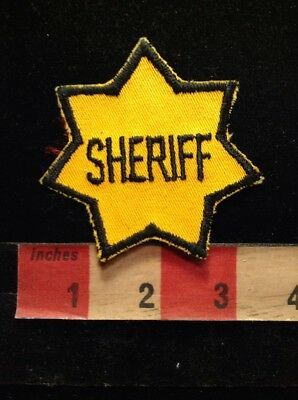 SHERIFF Security / Police Type Patch 76YF