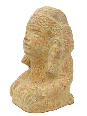 Pre-Columbian Figure Mexican Aztec Water God Deity Mexico Statue Figurine Mayan