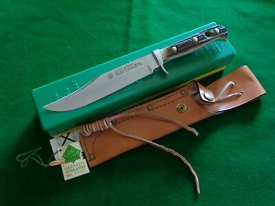 Old c. 1993 PUMA BOWIE 11-6396 STAG Control #27391 GREEN & YELLOW BOX MIB